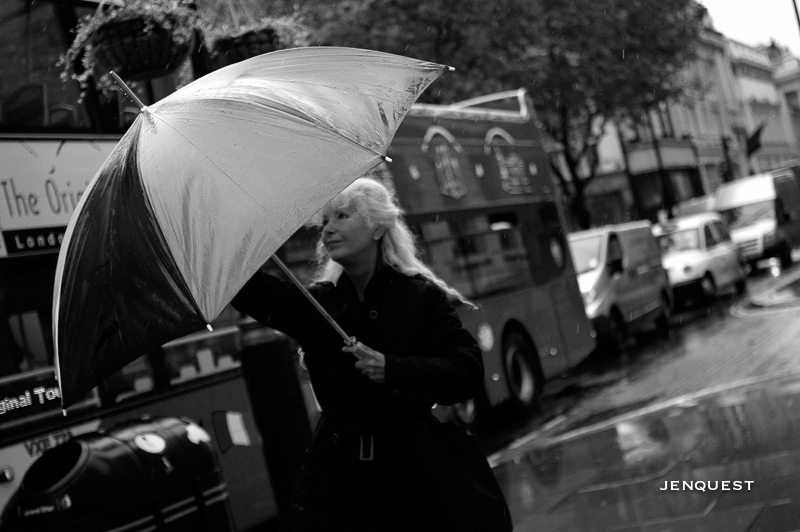 The Lady and her Umbrella